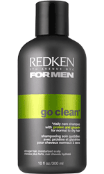 go clean daily care shampoo