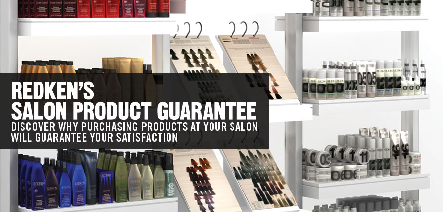 Redken's Salon Product Guarantee - Salon Only