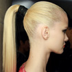 Leather-Look Ponytail