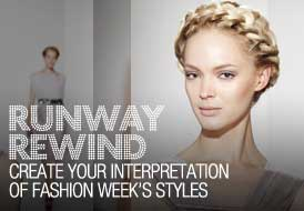 fall fashion week trends updos straight looks refreshed looks for all ocassions