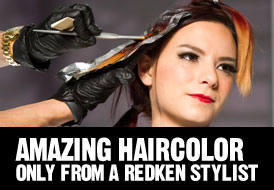 Amazing Haircolor Only From a Redken Hair Stylist