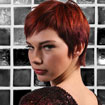 Haircolor Inspiration:  Red Pixie