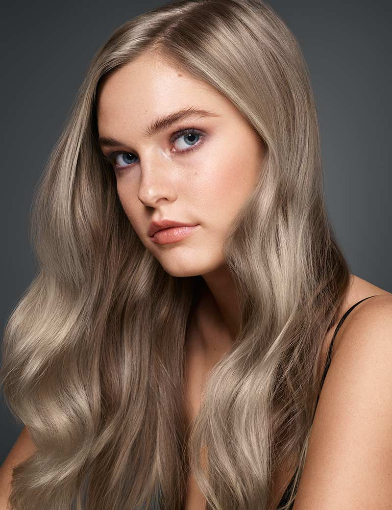 Cool Ashy Blonde Balayage
