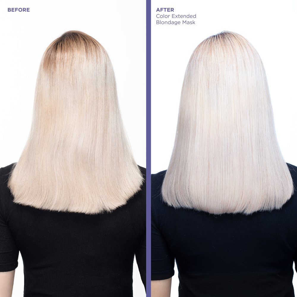 Color Extend Blondage Anti Brass Purple Hair Mask For