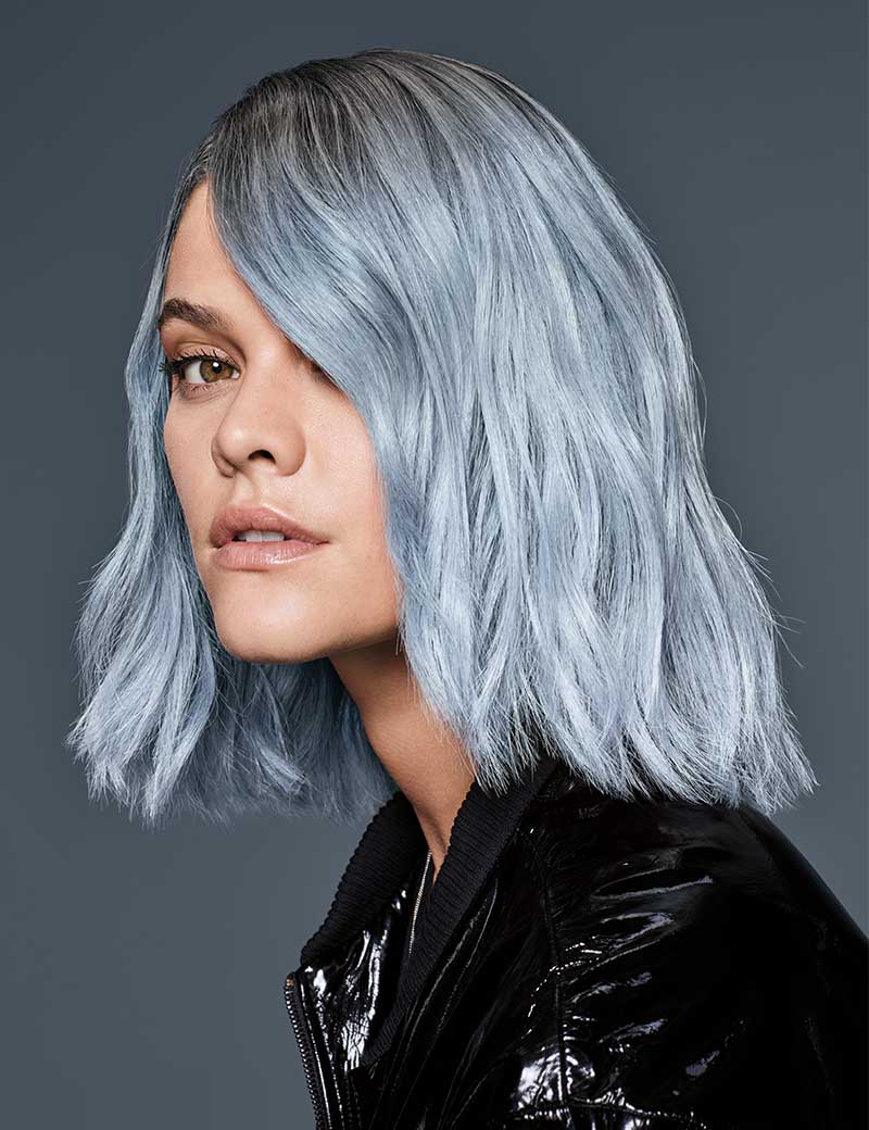Pale Green Haircolor Redken