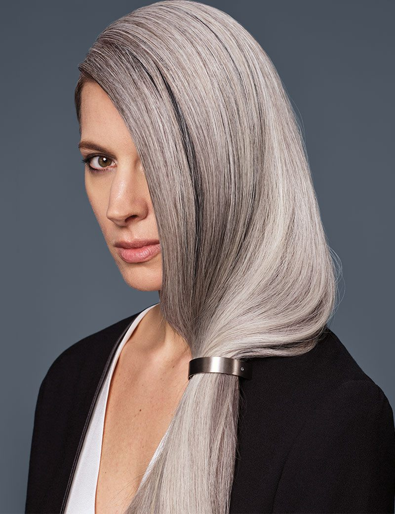 Stay Gray: Natural Bright Gray Hair | Redken