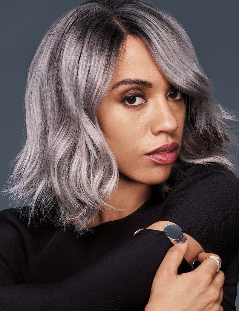 Transform your Haircolor into Silver