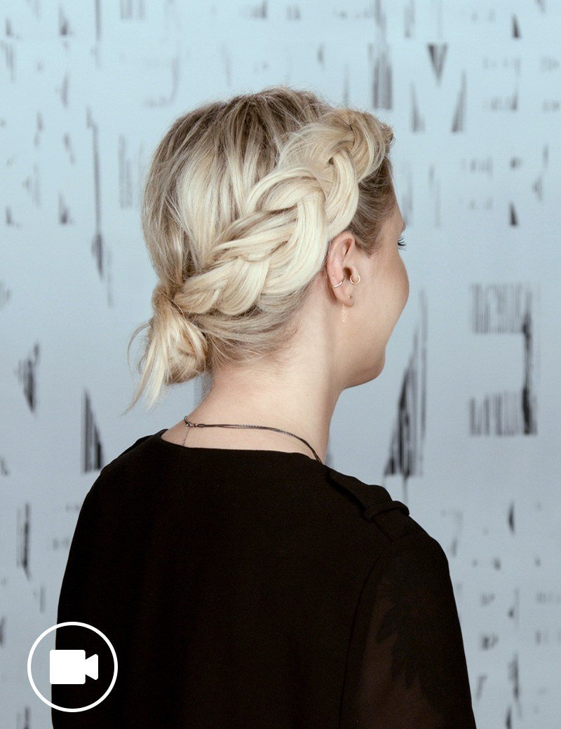 Festival Hairstyle Crown Braid