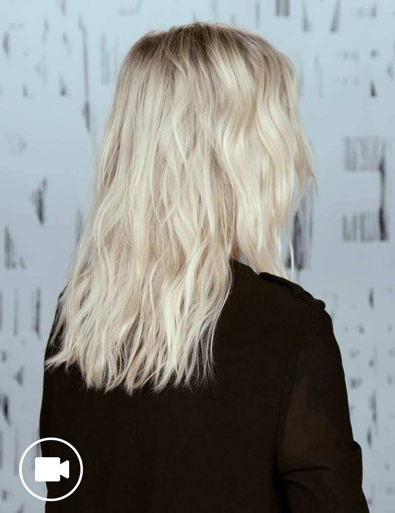 Festival Hairstyle Desert Waves