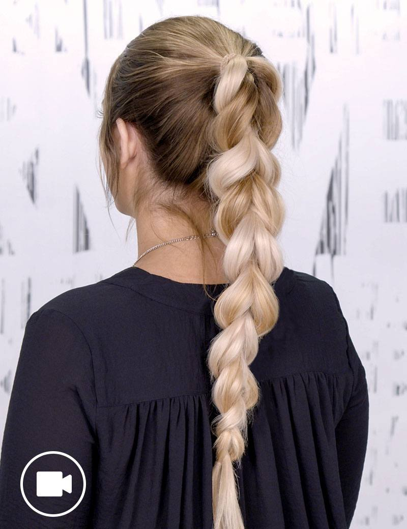 Braided Ponytail Hair Style For Women Redken