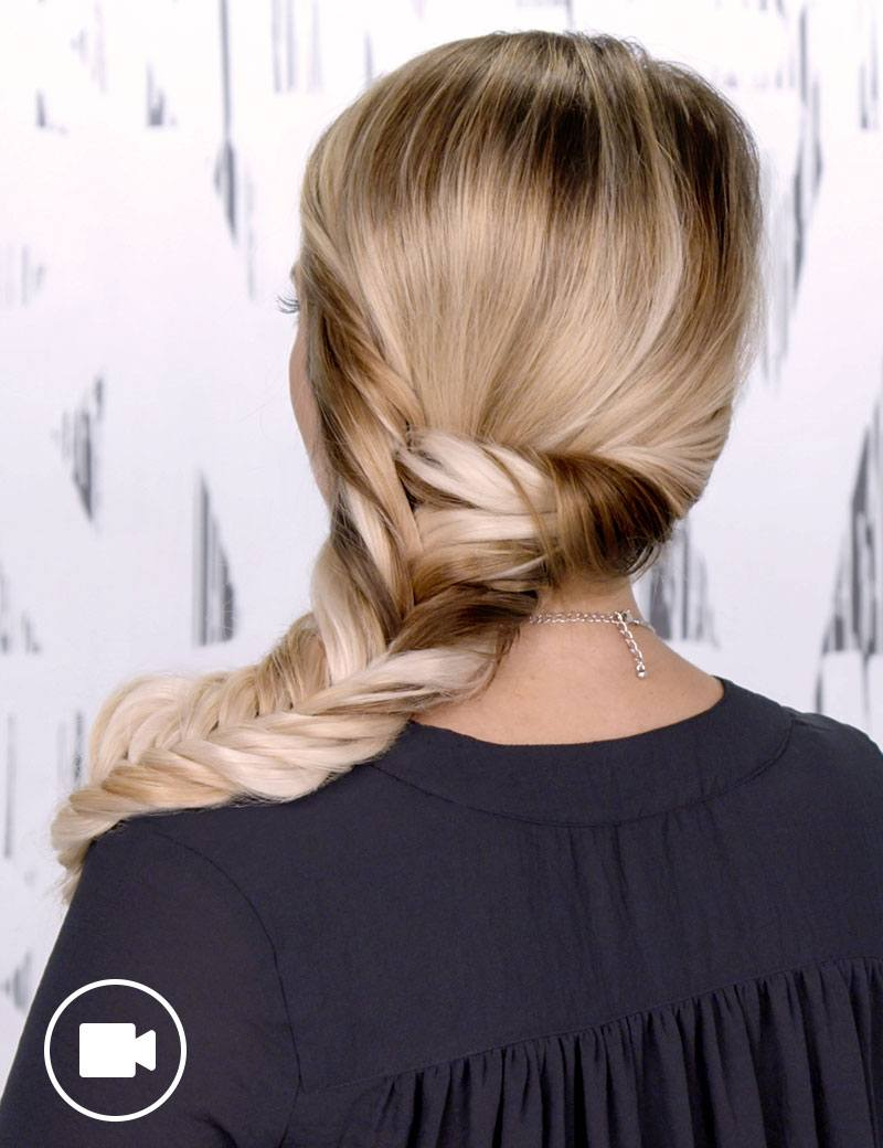 Summer Hair Fishtail Braid How To | Redken