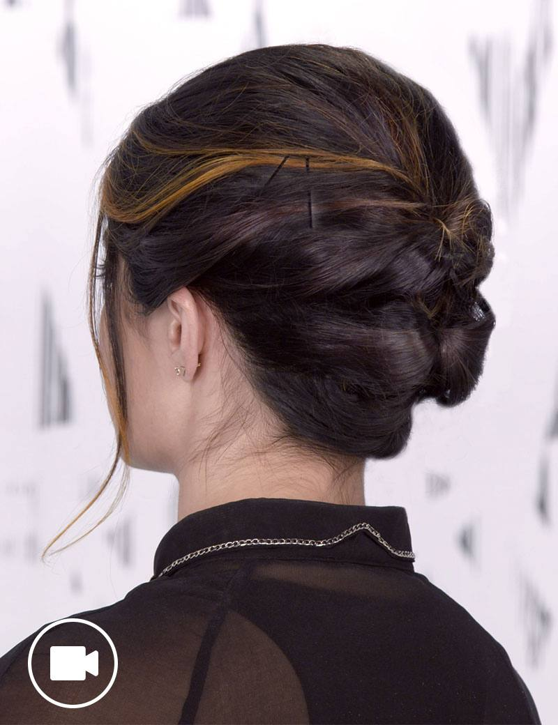 Short Updo Hair Style For Any Occasion Redken