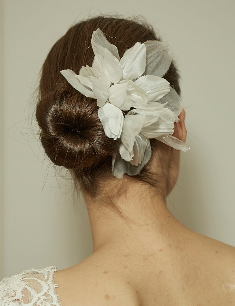 Bridal Updo from Monique Lhuillier