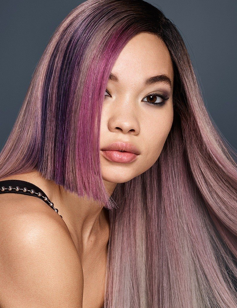 Redken Fantasy haircolor trend Smokey Ombre in Shout