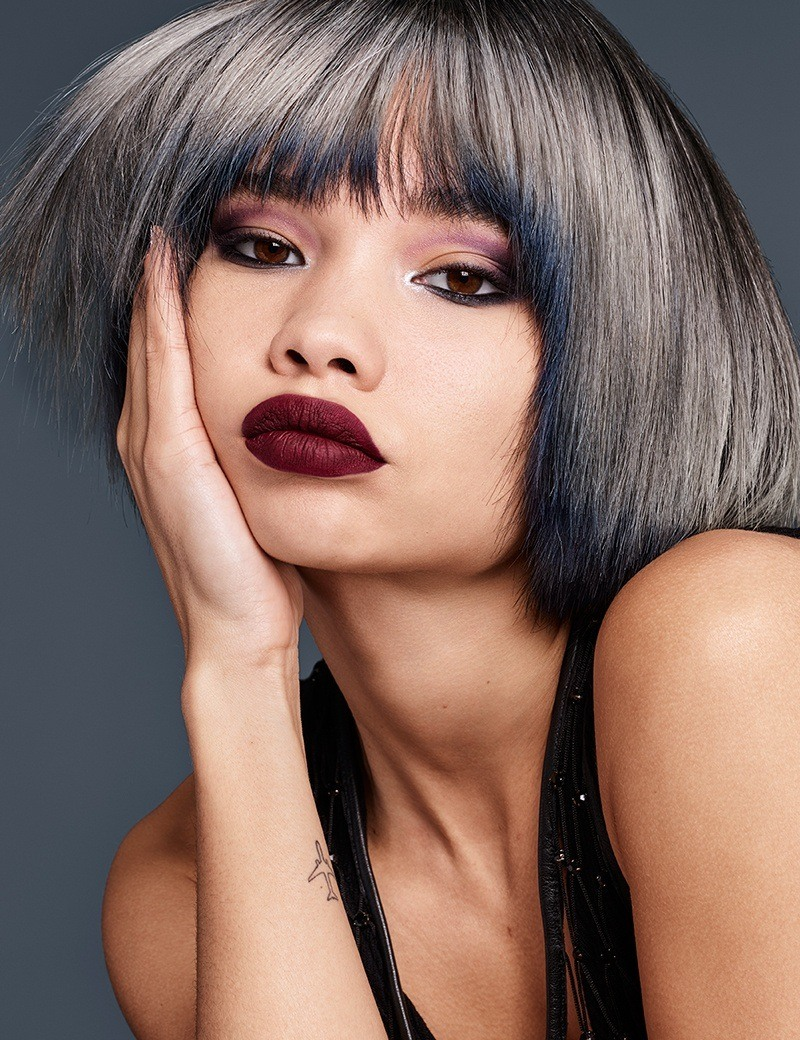 Redken Fantasy haircolor trend Smokey Ombre in Talk