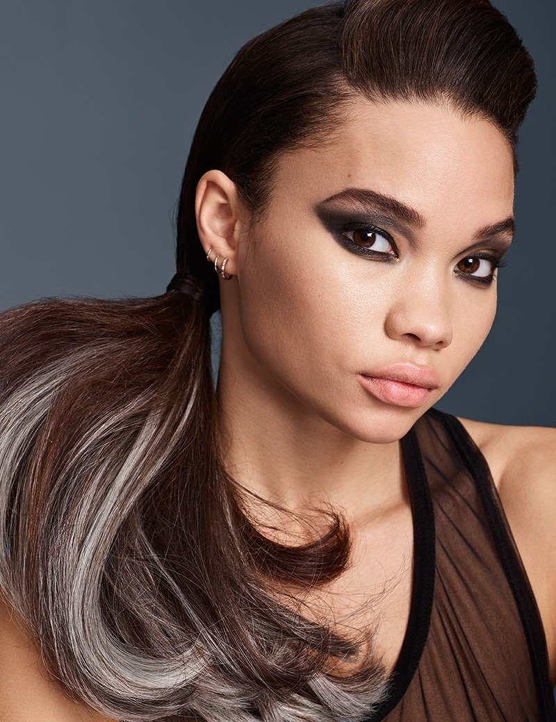Redken Fantasy haircolor trend Smokey Ombre in whisper
