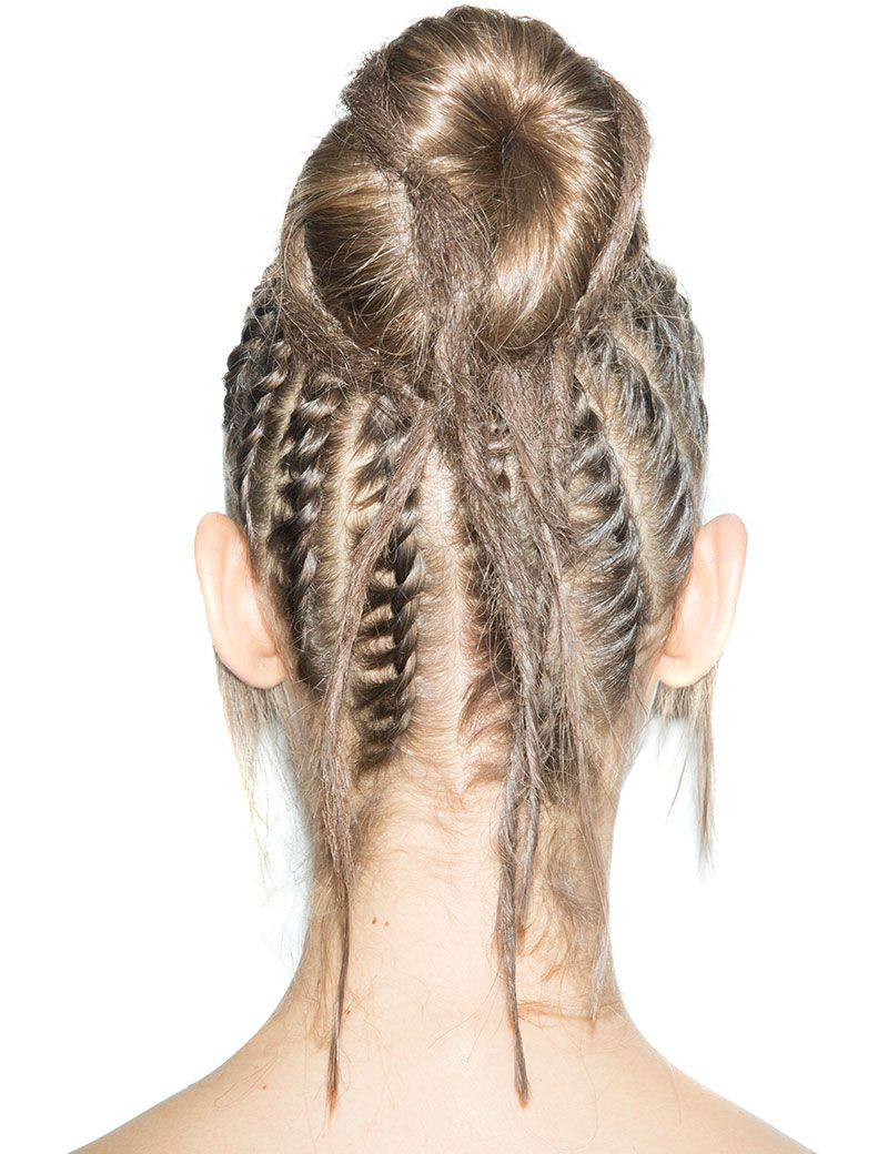 Women S Long Hairstyle Braid Updo For Festival Or Party Redken