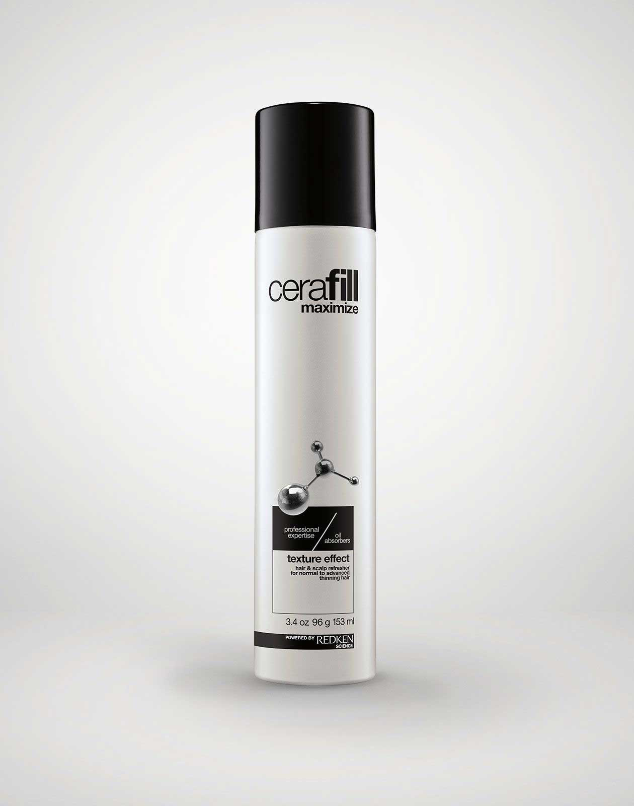 redken   cerafill thinning solutions: hair thickening products for