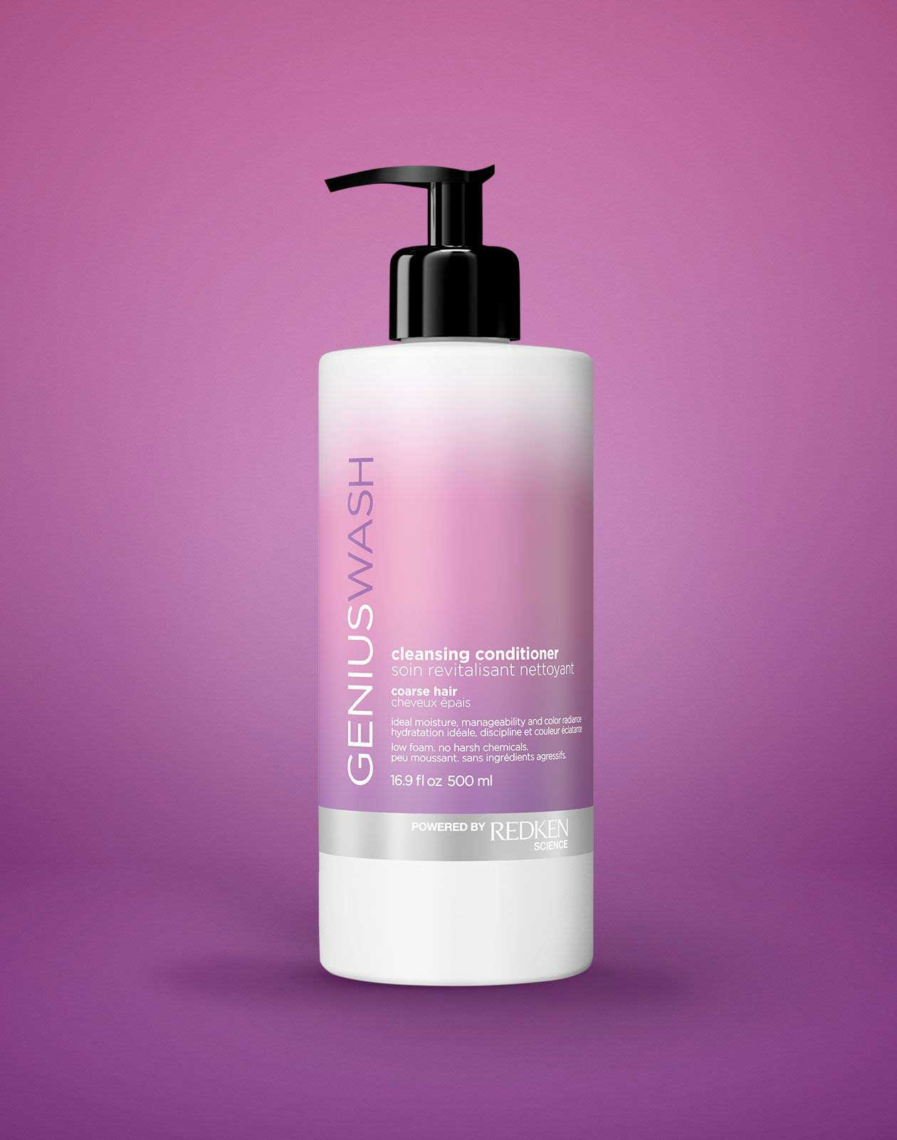 styling products for coarse hair cleansing conditioner for coarse hair genius wash redken 8510