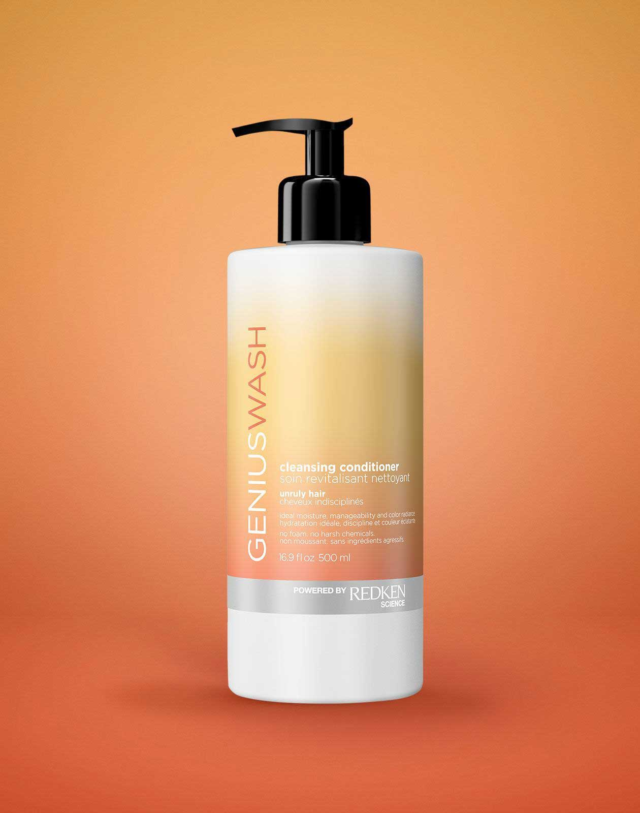 Cleansing Conditioner For Unruly Hair Genius Wash Redken