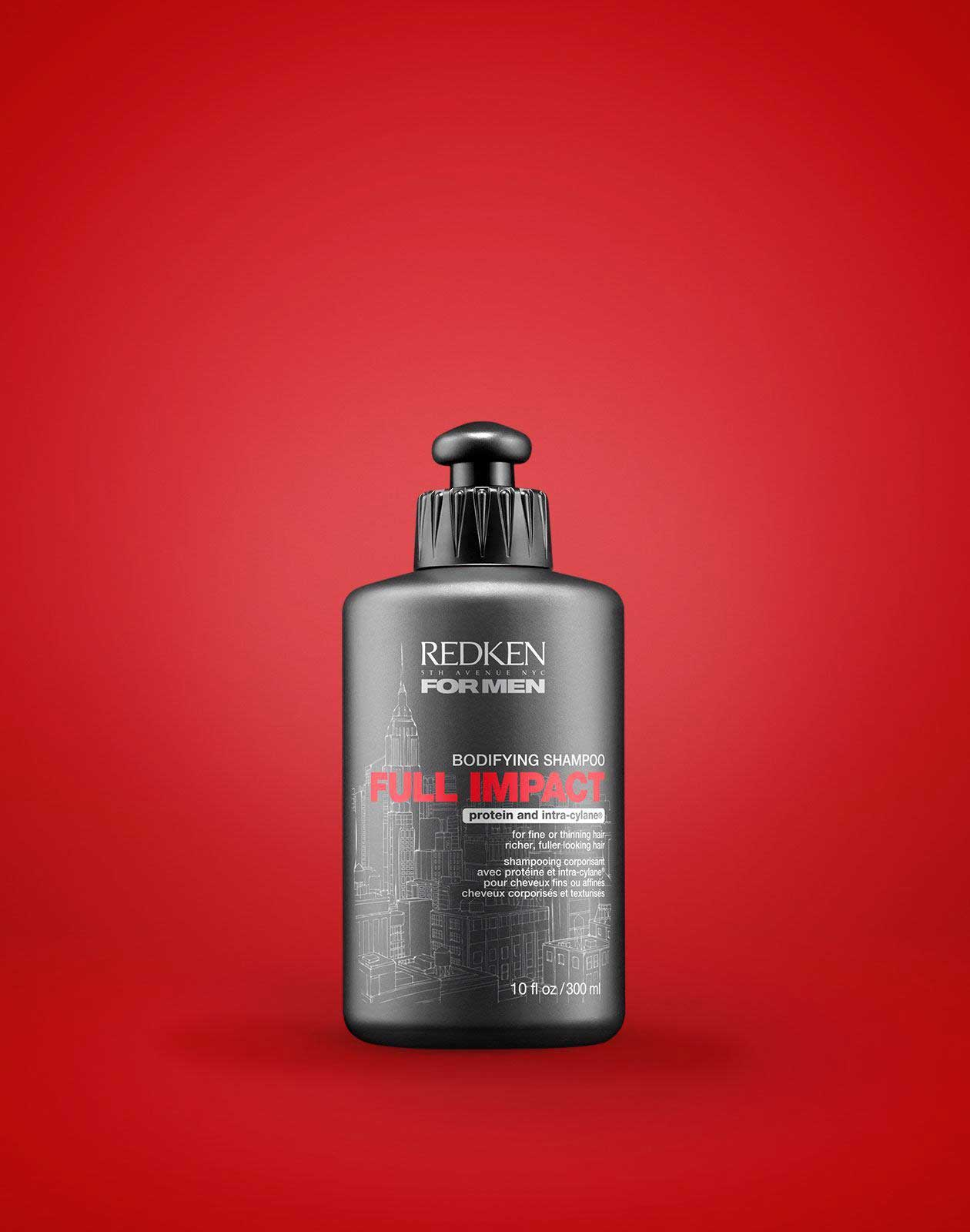 discontinued protein for thin hair - redken full impact bodifying