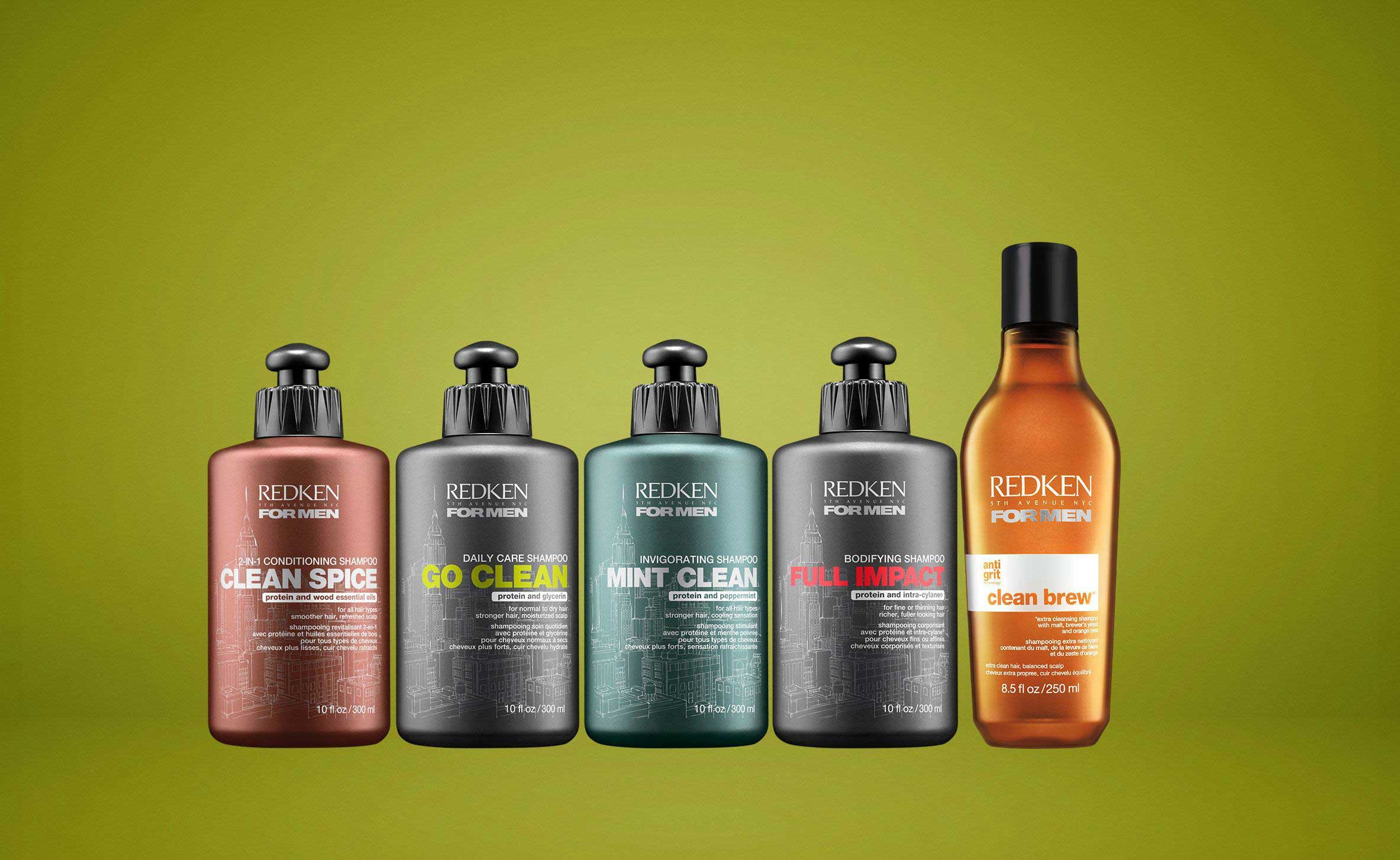 Professional Hair Care Products For Men  Redken For Men