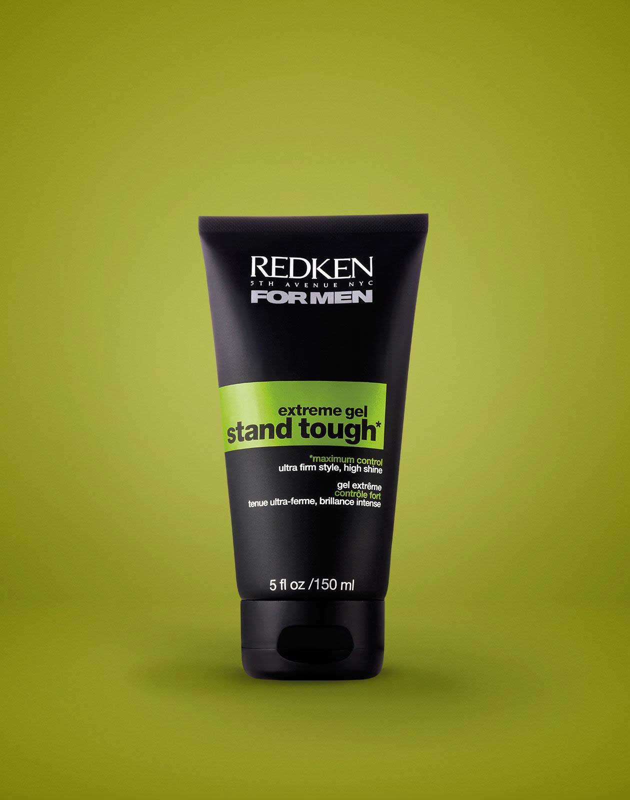 Extra Strong Hold Hair Gel Redken Stand Tough Extreme Hold Gel - Hair gel