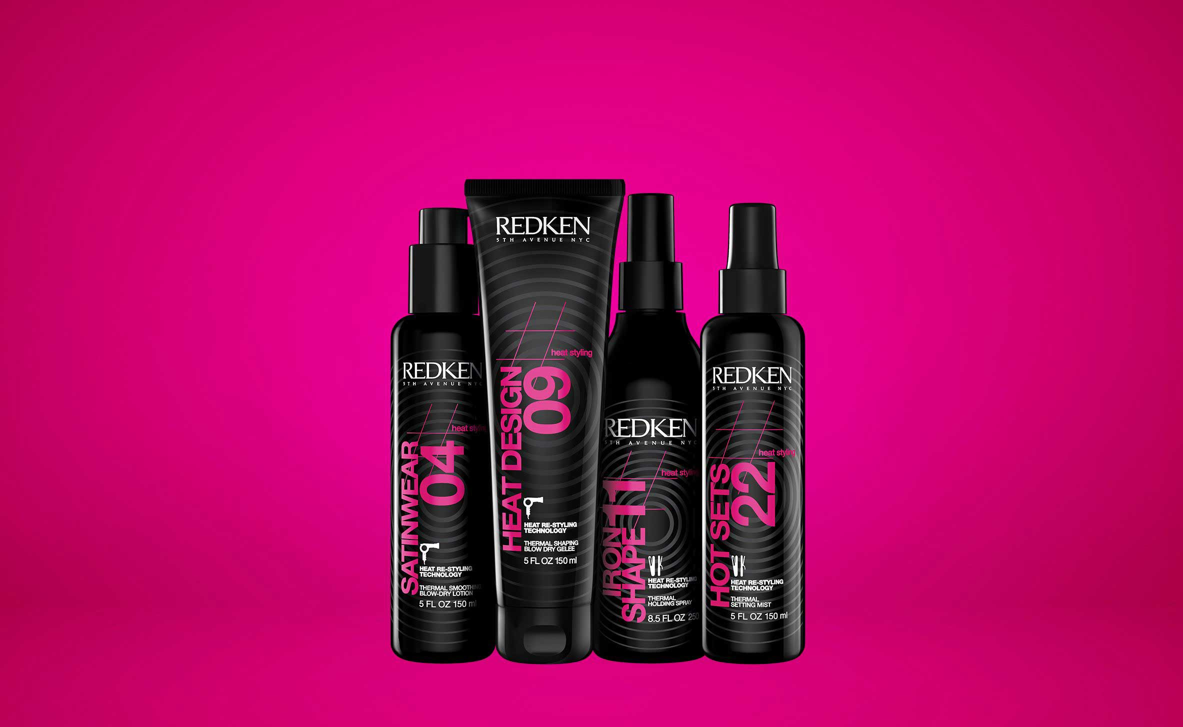 Professional Heat Protectant Products Redken Heat Styling