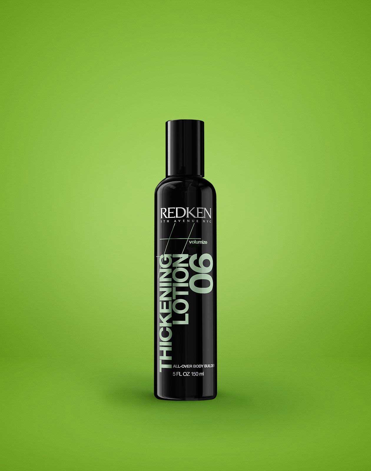 hair thickening styling products hair thickening amp strengthening lotion redken thickening 1906 | 743877051453thickeninglotion06