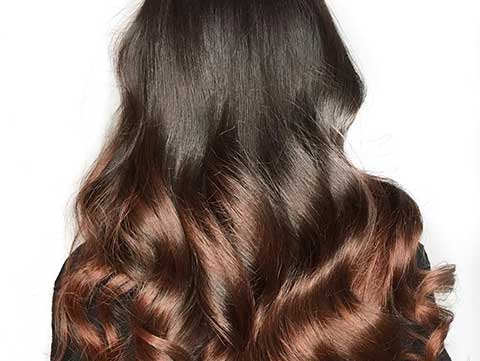 Brunette haircolor ideas based on skin tone and undertone.