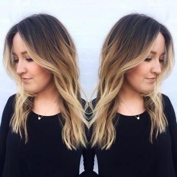 Dark Roots, Blonde Hair The Perfect Low,Maintenance