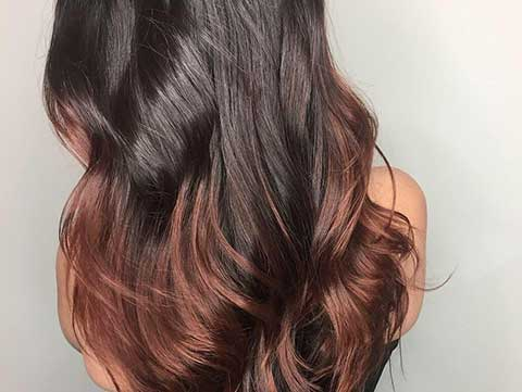 Ombré haircolor idea inspiration.