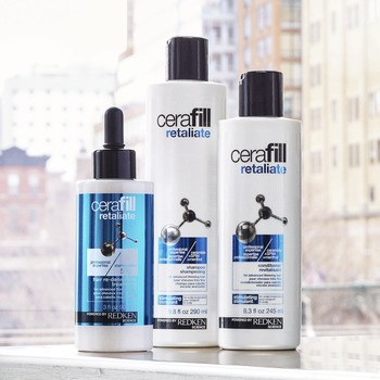 Cerafill product line to stimulate the scalp