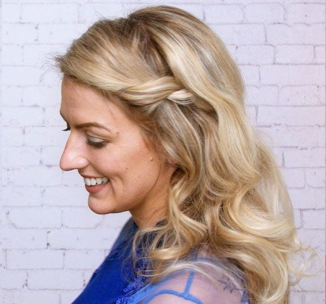3 Easy Prom Wedding Hairstyles Redken