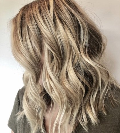 Blonde With Lowlights