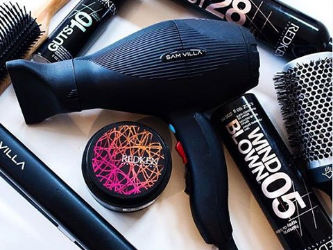 Overview of hair dryer and hair styling products