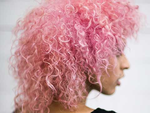 Flawless Redken Pink Curls for Curly Girls