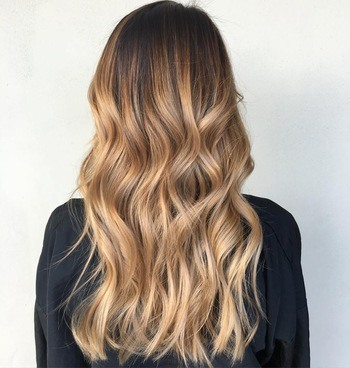 No Blow Dry Cream used to get easy hair waves.