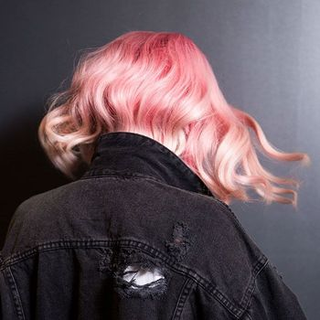 By combining different shades of City Beats, Sean was able to create Chloe's pastel hair color.