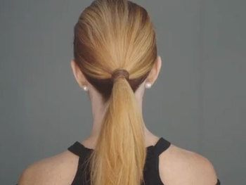 Glam Wrapped Ponytail THUMB