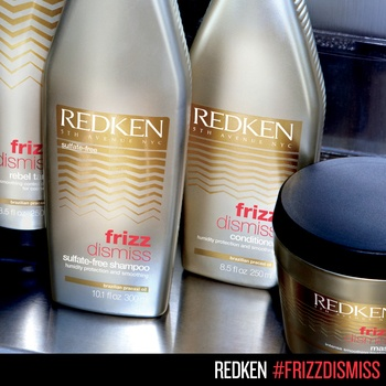 Redken Frizz Dismiss haircare for smooth hair