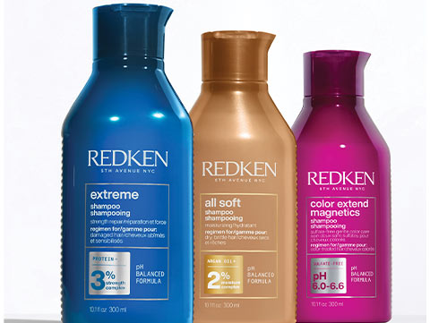Redken's SMART Haircare  Products with RCT
