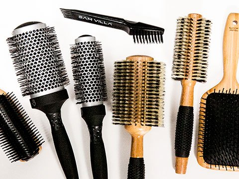 Great hair starts with a great hairbrush.