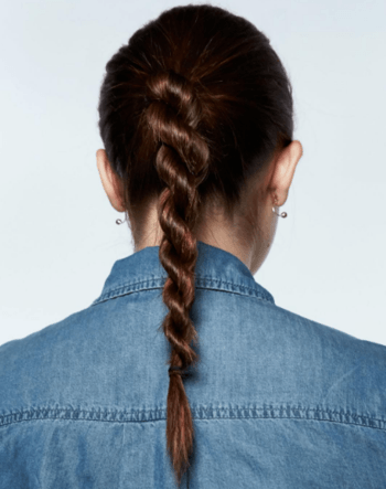 Rope braids are great for adding a bit of edge to your style.
