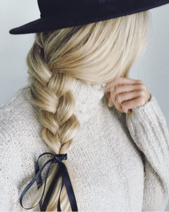 Take your hair to the next level with a side braid.
