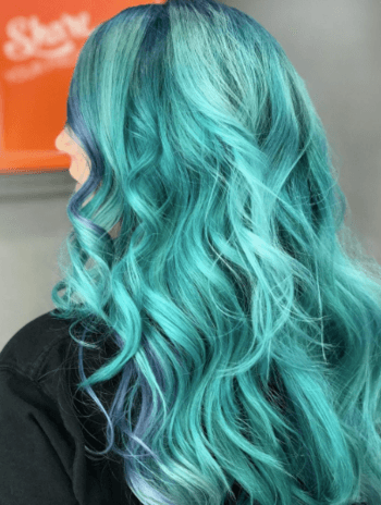 Score laidback mermaid waves using an air-styling cream like No Blow Dry.