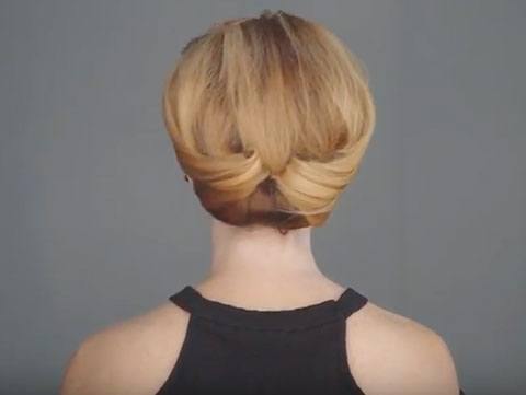Easy Romantic Updo