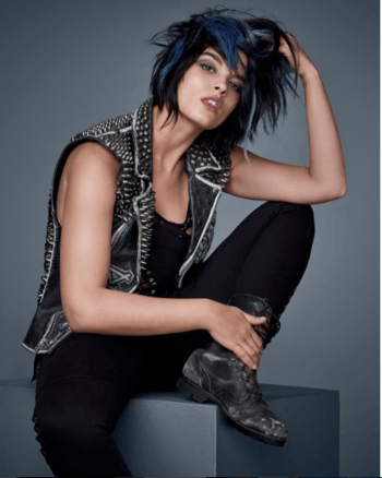 Redken muse and model Crystal Renn