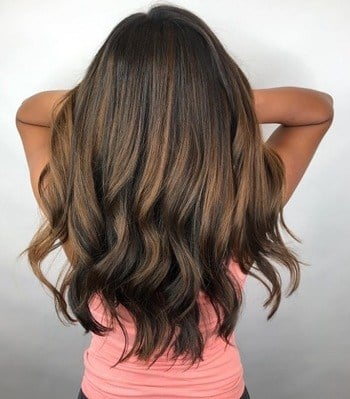 Chocolate Brown Haircolor