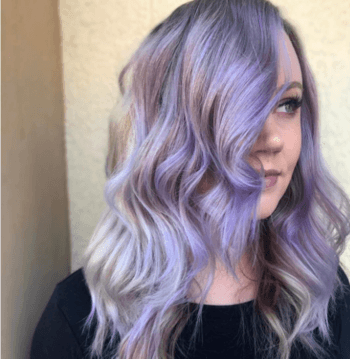 Add a fun pop of color to your hair by asking your local Redken stylist for lavender hair!